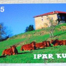 Coleccionismo Calendarios: CALENDARIO BOLSILLO IPAR KUTXA 2005. Lote 24702648