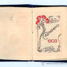 Coleccionismo Calendarios: CARTAGENA - 1903 - MINI CALENDARIO . Lote 26421828