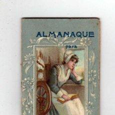 Coleccionismo Calendarios: CALENDARIO ALMANAQUE 1904 - BARCELONA, 9 X 5 CM, . Lote 25950996