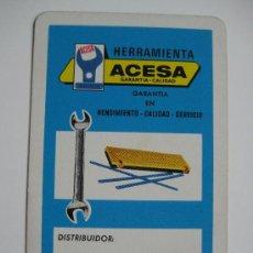 Coleccionismo Calendarios: CALENDARIO FOURNIER, ACESA, DE 1972. Lote 26346853