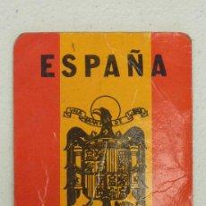 Coleccionismo Calendarios: CALENDARIO POLITICO DE BOLSILLO DE BANDERA DE ESPAÑA. FRANQUISTA. UNA GRANDE Y LIBRE DE 1980. . Lote 26851268