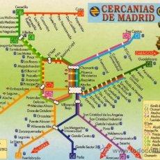 Coleccionismo Calendarios: CALENDARIO AÑO 2003 CERCANÍAS DE MADRID PUBLICIDAD PAPELERÍA BEGOÑA COSLADA NUEVO. Lote 26911347