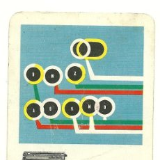 Coleccionismo Calendarios: FOURNIER 1959. CALENDARIO DE HISPANO OLIVETTI. AÑO 1959. (HF3). Lote 27271753