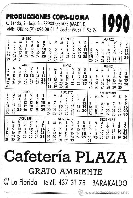 1990 Calendario.1772 Calendario 1990 La Risa Es Julio Tejela