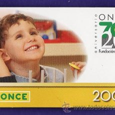 Coleccionismo Calendarios: CALENDARIO BOLSILLO - ONCE - 70 ANIVERSARIO - AÑO 2008. Lote 32836011