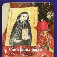Coleccionismo Calendarios: CALENDARIO BOLSILLO - RELIGIOSO - SANTA JUANA JUGAN - CONG. HERMANITAS POBRES - AÑO 2010. Lote 27678885