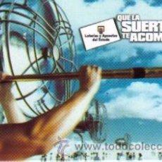 Coleccionismo Calendarios: CALENDARIO DE LOTERIAS Y APUESTAS DEL ESTADO DE 1999 LOTERIA. Lote 120500044