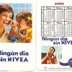 Coleccionismo Calendarios: DOS CALENDARIOS DE NIVEA 1969 Y 1970. Lote 27921281