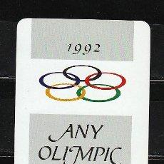 Coleccionismo Calendarios: 1992. ANY OLIMPIC. Lote 28004521