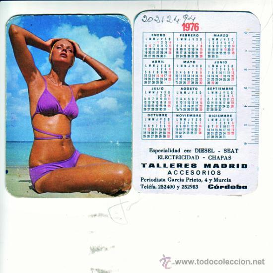 Calendario 1976.Calendario 1976 Bar Madrid