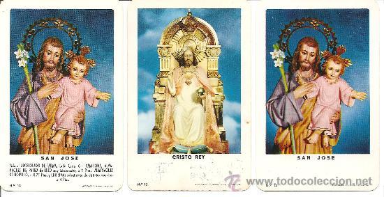 DOS CALENDARIOS APOSTOLADO DE FATIMA, SAN JOSE (Coleccionismo - Calendarios)