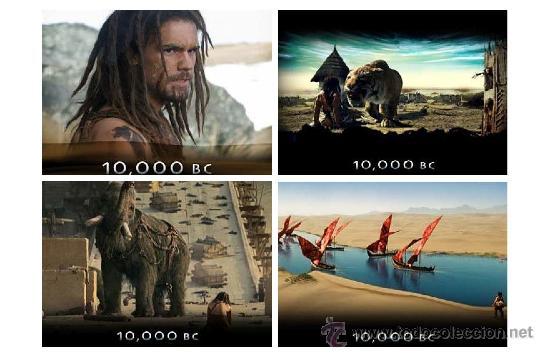 Colección de 21 calendarios de Cine/Movies - 10000 BC - 2012