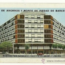 Coleccionismo Calendarios: CALENDARIO FOURNIER DE LA CAJA DE AHORROS DE BARCELONA. AÑO 1968.. Lote 28459796