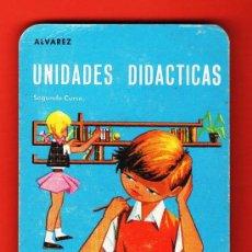 Coleccionismo Calendarios: CALENDARIO BOLSILLO - UNIDADES DIDACTICAS - EDITORIAL MIÑON / ALVAREZ - VALLADOLID - AÑO 1967. Lote 28473094