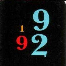 Coleccionismo Calendarios: CALENDARIO DE LA CAIXA (CATALAN) DE 1992. Lote 137920634