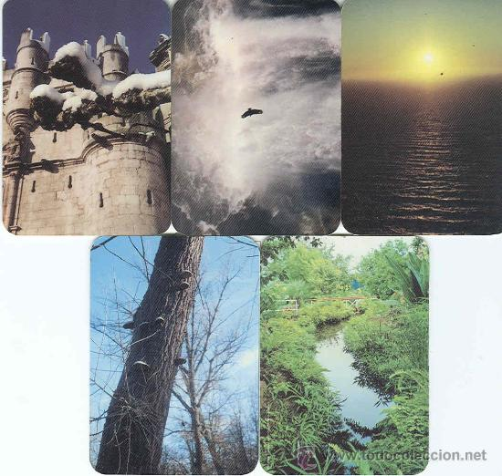 5 CALENDARIOS DE GRAFICAS CASTILLA DE 2005 (Coleccionismo - Calendarios)