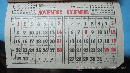 Calendario Del Ano 1965.Antiguo Calendario Ano 1965 De Arroyo San Servan Badajoz Antonio Cortes Torres