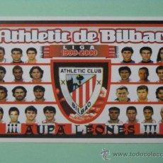 Coleccionismo Calendarios: CALENDARIO ATHLETIC CLUB DE BILBAO. FÚTBOL. 2000.. Lote 29127630