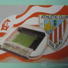 Coleccionismo Calendarios: CALENDARIO ATHLETIC CLUB DE BILBAO. FÚTBOL. 2001.. Lote 29127719
