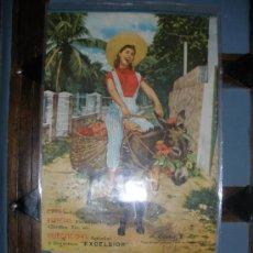 Coleccionismo Calendarios: CALENDARIO DEL AÑO 1962 DE PUBLICIDAD.-EXCELSIOR-.. Lote 29205205