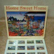 Coleccionismo Calendarios: PEQUEÑO CALENDARIO HOME SWEET HOME DE AÑO 2008. Lote 29262597