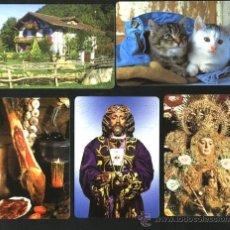 Coleccionismo Calendarios: LOTE 5 CALENDARIOS 2012. Lote 29301381