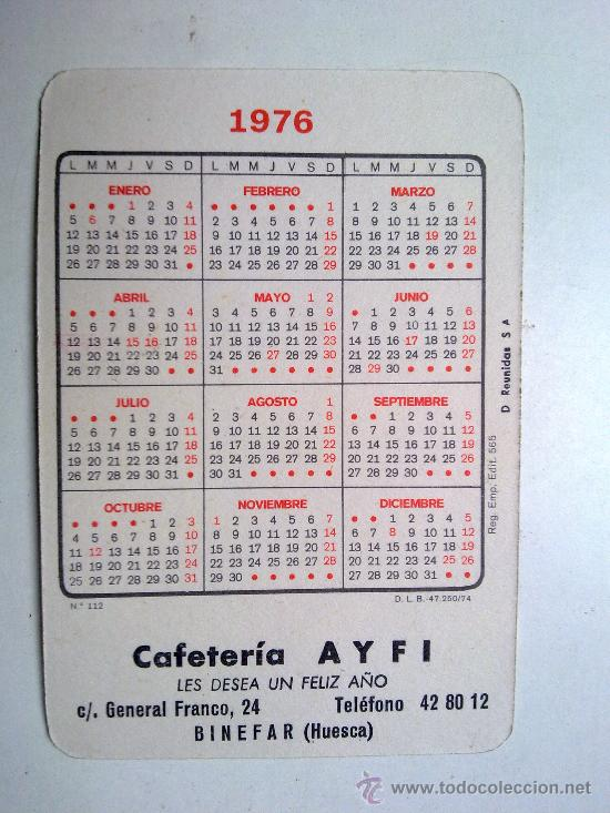 Coleccionismo Calendarios: calendario, mujer, 1974 nº 112 edi. 565, - Foto 2 - 29359958
