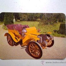 Coleccionismo Calendarios: CALENDARIO COCHE CLASICO 1983 CON PUBLICIDAD VER FOTO . Lote 29405909