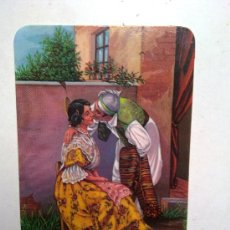 Coleccionismo Calendarios: ANTIGUO CALENDARIO PAREJA VALENCIANA CON ROPA TIPICA AÑO 1991. Lote 29413780