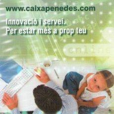 Coleccionismo Calendarios: 2741- CALENDARIO CAIXA PENEDES- 2009- EN CATALAN-. Lote 29486248