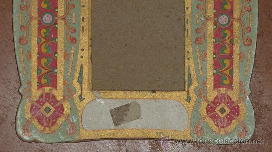 Coleccionismo Calendarios: Calendario cartel modernista de la virgen del carmen. - Foto 3 - 29544996