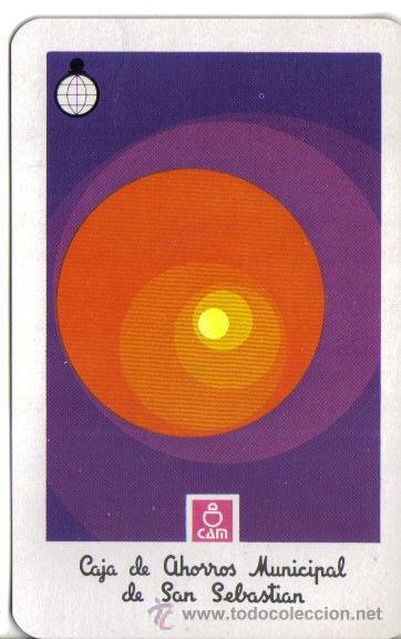 CALENDARIO FOURNIER 1973 CAJA DE AHORROS MUNICIPAL DE SAN SEBASTIAN (Coleccionismo - Calendarios)
