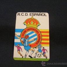 Coleccionismo Calendarios: CALENDARIO DE BOLSILLO - R.C.D. ESPAÑOL - AÑO 1989 - . Lote 29771870