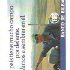 Coleccionismo Calendarios: CALENDARIO FOURNIER 1982 BANCO BILBAO. Lote 29786872