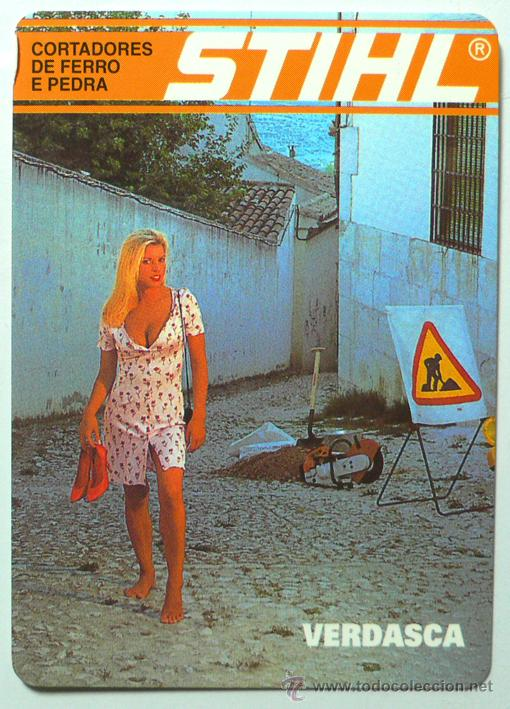 Calendario Stihl.Calendario Erotico Extranjero Stihl 1998 Sold At