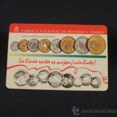 Coleccionismo Calendarios: CALENDARIO DE BOLSILLO - FABRICA NACIONAL DE MONEDA Y TIMBRE - 1993 - . Lote 29836446