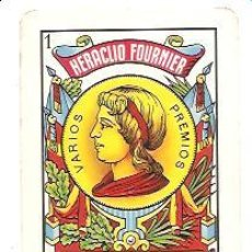 Coleccionismo Calendarios: CALENDARIO BOLSILLO FOURNIER AS DE OROS – AÑO 1986. Lote 29905002