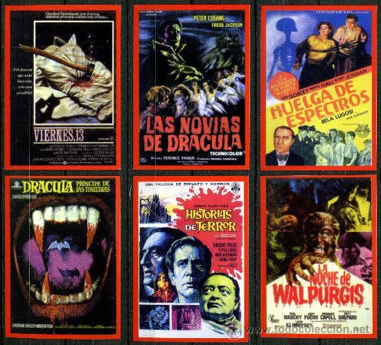 Coleccionismo Calendarios: 27 - Calendarios Bolsillo - CINE TERROR 2010 - Foto 5 - 112139186