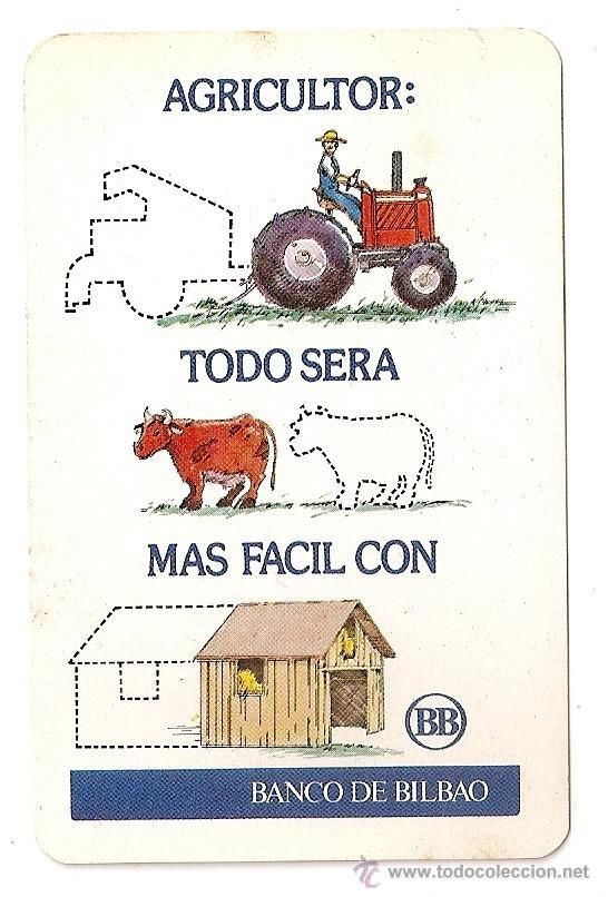CALENDARIO FOURNIER 1976 BANCO BILBAO (Coleccionismo - Calendarios)