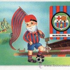 Coleccionismo Calendarios: CALENDARIO 1992. F.C BARCELONA. BARÇA. FUTBOL. PUBLICIDAD PANADERIA ELISABETH. BARCELONA.. Lote 30085882
