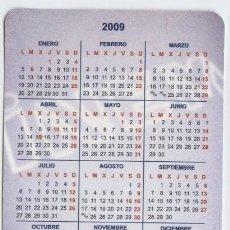 Coleccionismo Calendarios: CALENDARIO DE BOLSILLO AÑO2009: INEM. Lote 30425099