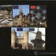 Coleccionismo Calendarios: LOTE 5 CALENDARIOS PUBLICITARIOS, 2007. Lote 30179082