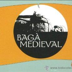 Coleccionismo Calendarios: 19 CALENDARIOS BOLSILLO - BAGA MEDIEVAL 2006 (CATALAN). Lote 39189247