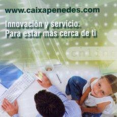 Coleccionismo Calendarios: CALENDARIO DE BANCOS. CAIXA PENEDES 2009. Lote 30439701