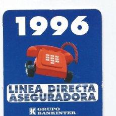 Coleccionismo Calendarios: CALENDARIO 1996- LINEA DIRECTA ASEGURADORA. Lote 30536766