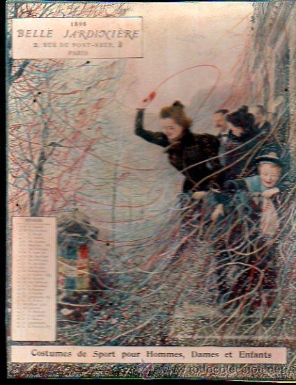 Coleccionismo Calendarios: E. GRASSET, CALENDARIO DE 1898 DE LA BELLE JARDINIERE, 15 POR 20.5CM - Foto 11 - 30729829
