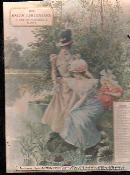 Coleccionismo Calendarios: E. GRASSET, CALENDARIO DE 1898 DE LA BELLE JARDINIERE, 15 POR 20.5CM - Foto 6 - 30729829