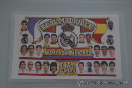 Calendario Del Real.Calendario Del Real Madrid 95 96