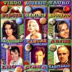 Coleccionismo Calendarios: 12 CALENDARIOS DE BOLSILLO - HOROSCOPOS 2008. Lote 147212380