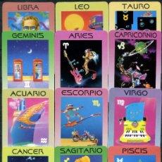 Coleccionismo Calendarios: 12 CALENDARIOS DE BOLSILLO - HOROSCOPOS 2007. Lote 112457768